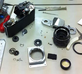 カメラ分解教室